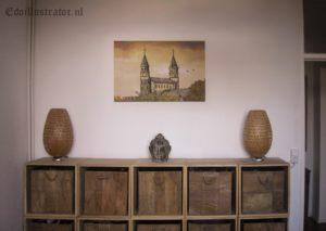 Canvas Onze Lieve Vrouweplein Maastricht