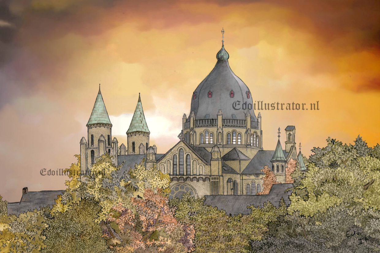 Sint Lambertuskerk, Koningin Emmaplein