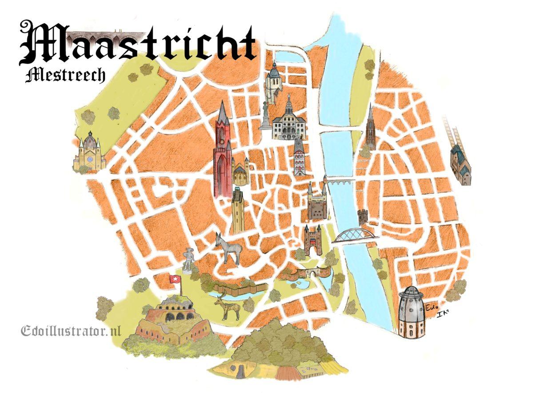 Plattegrond Maastricht